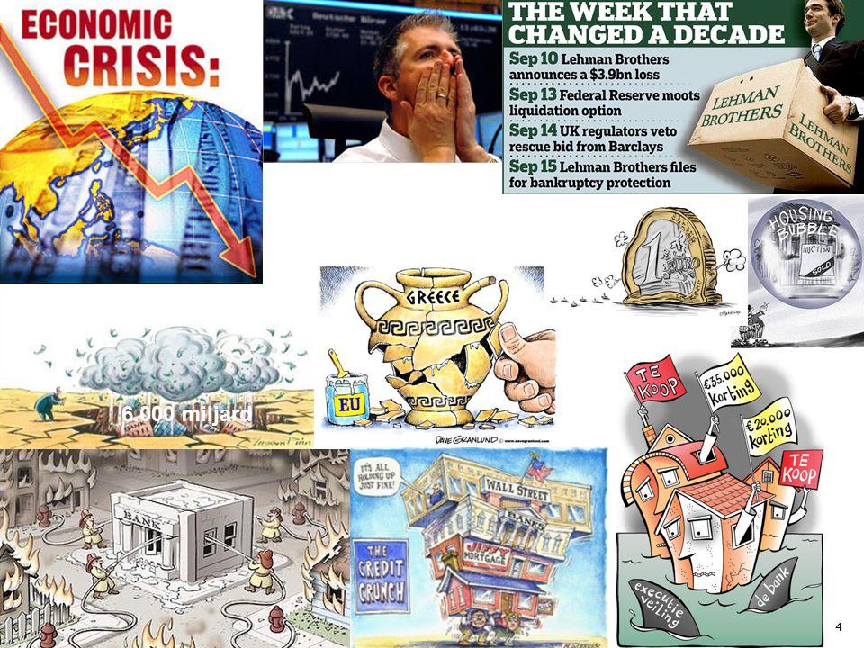 Oorzaken kredietcrisis: 1.Grote vraag naar beleggingsproducten.