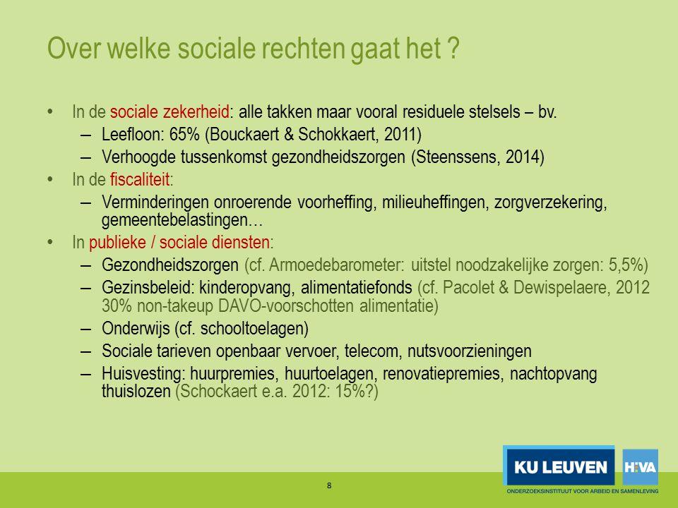 Over welke sociale rechten gaat het .