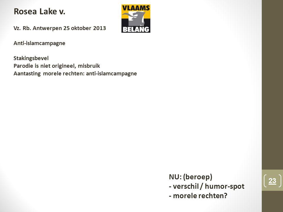 23 Rosea Lake v.Vz. Rb.