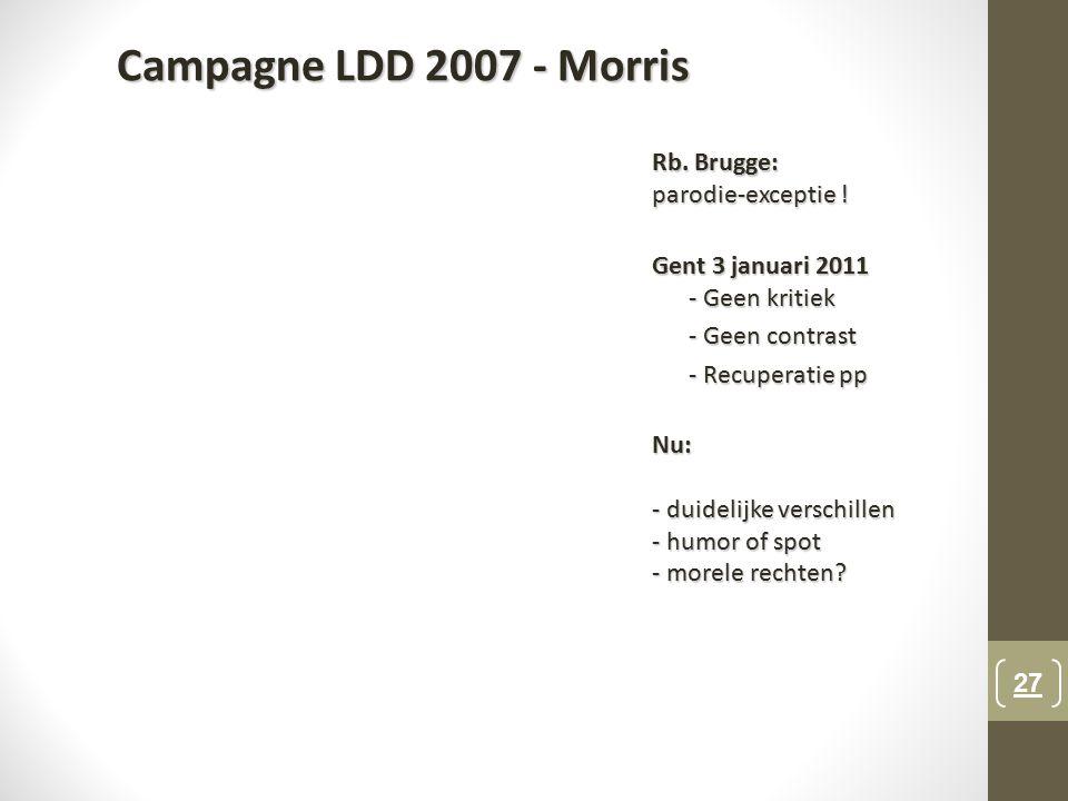 27 Campagne LDD 2007 - Morris Campagne LDD 2007 - Morris Rb.