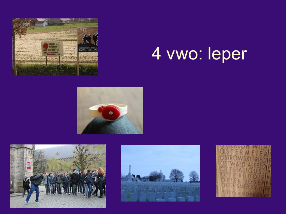 4 vwo: Ieper