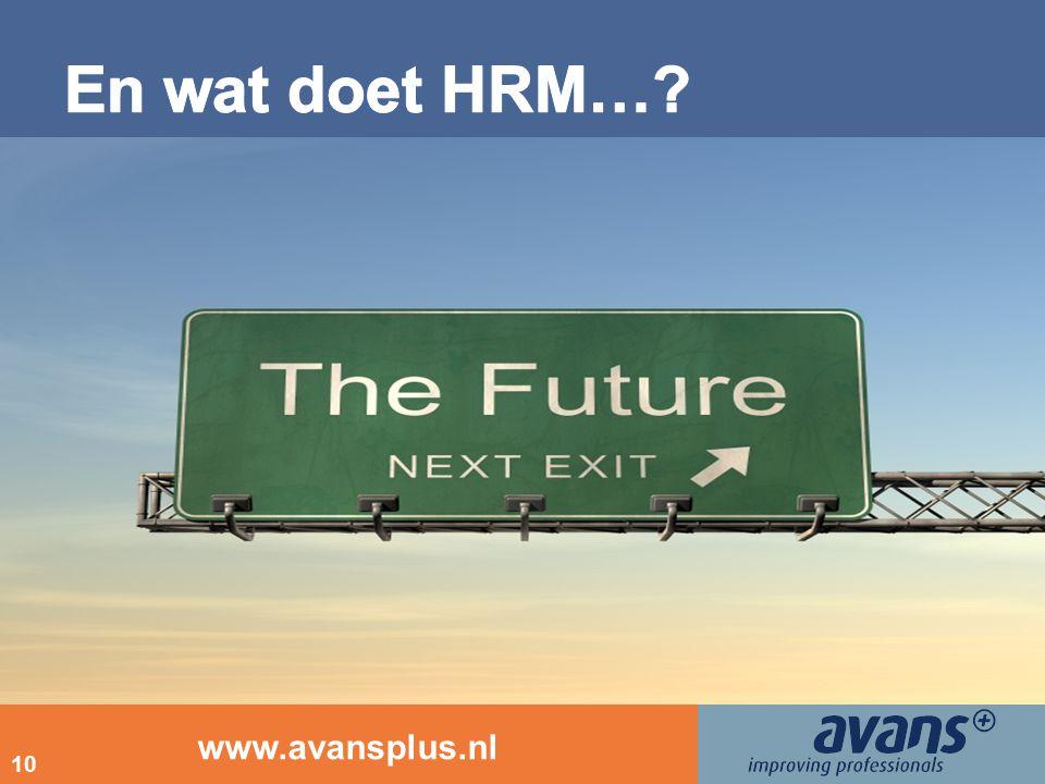 www.avansplus.nl 10