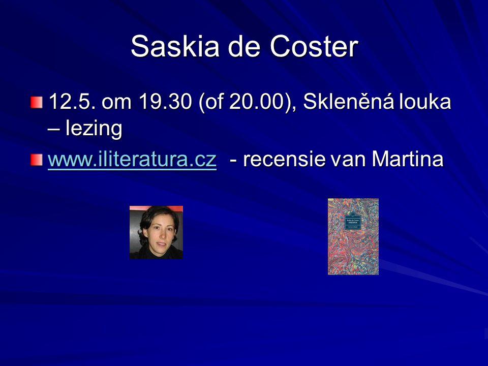 Saskia de Coster 12.5.