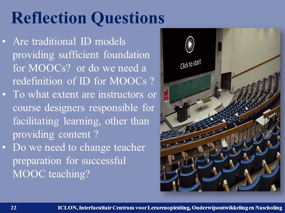 Universiteit Leiden. Bij ons leer je de wereld kennen. ICLON, Interfacultair Centrum voor Lerarenopleiding, Onderwijsontwikkeling en Nascholing Are tr