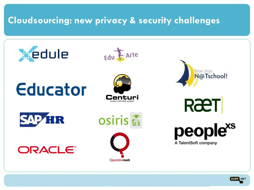 Cloudsourcing: new privacy & security challenges