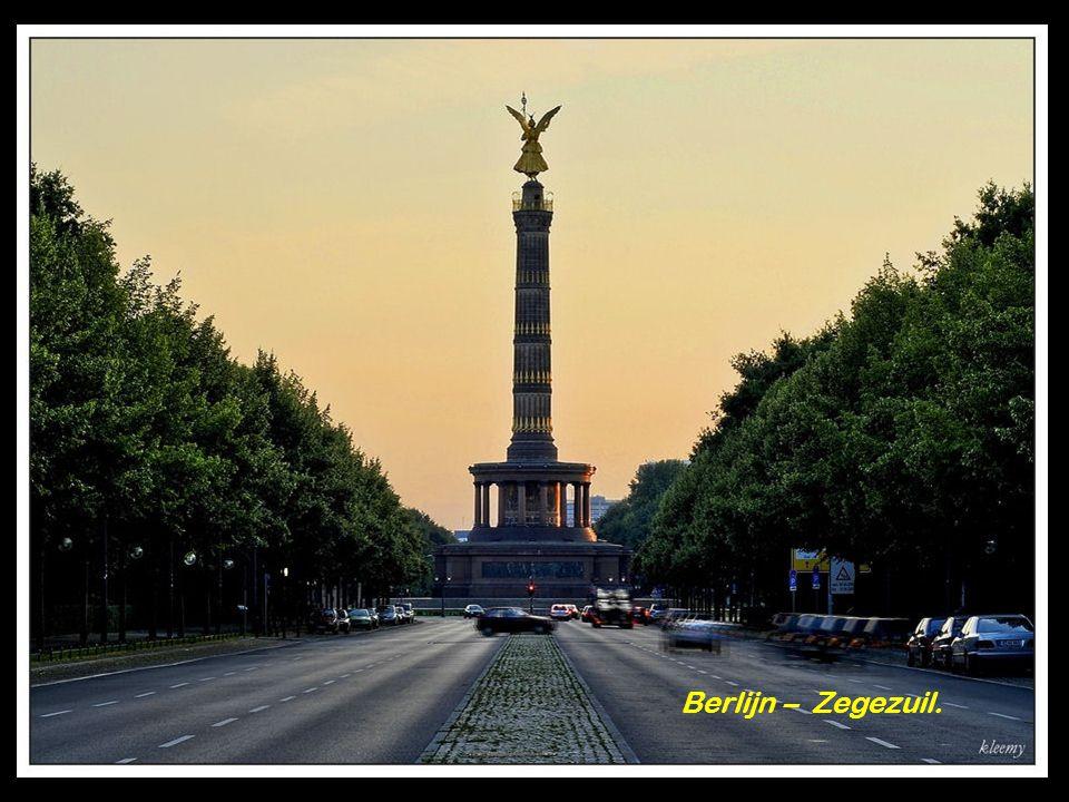 Berlijn - De Brandenburger Toren.