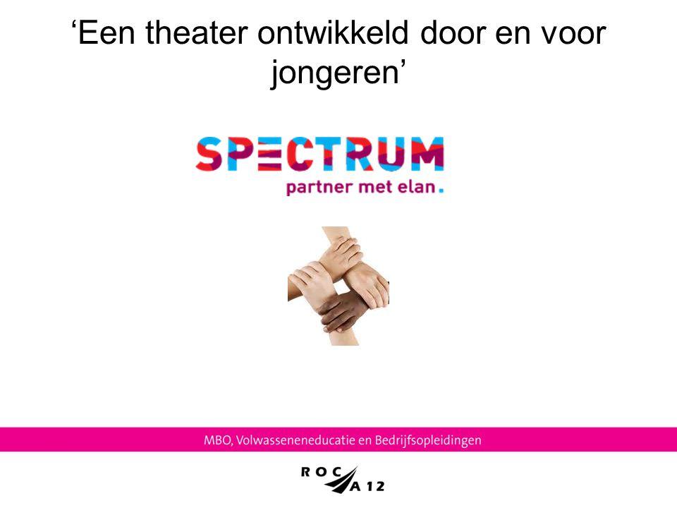 'Een theater ontwikkeld door en voor jongeren'