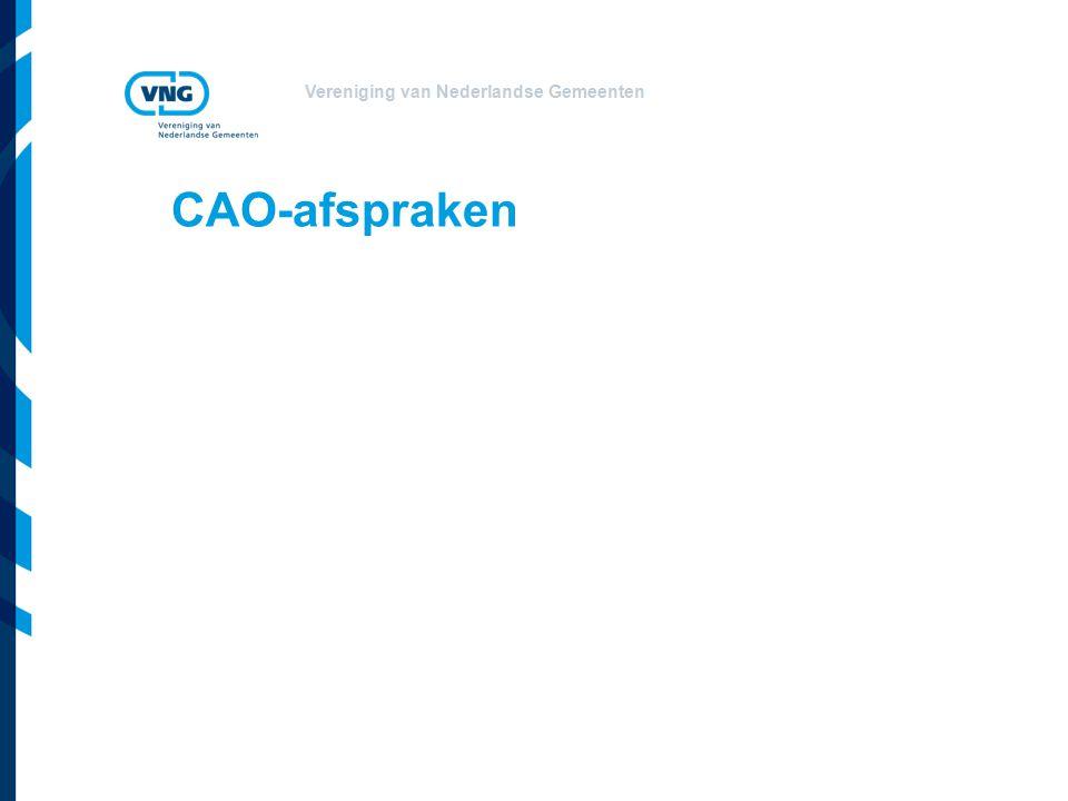 Vereniging van Nederlandse Gemeenten CAO-afspraken