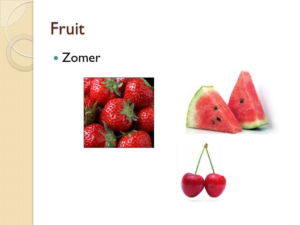 Fruit Herfst