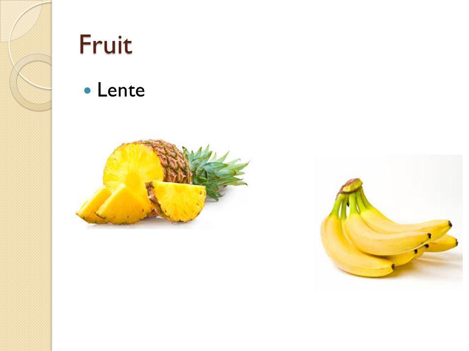 Fruit Lente