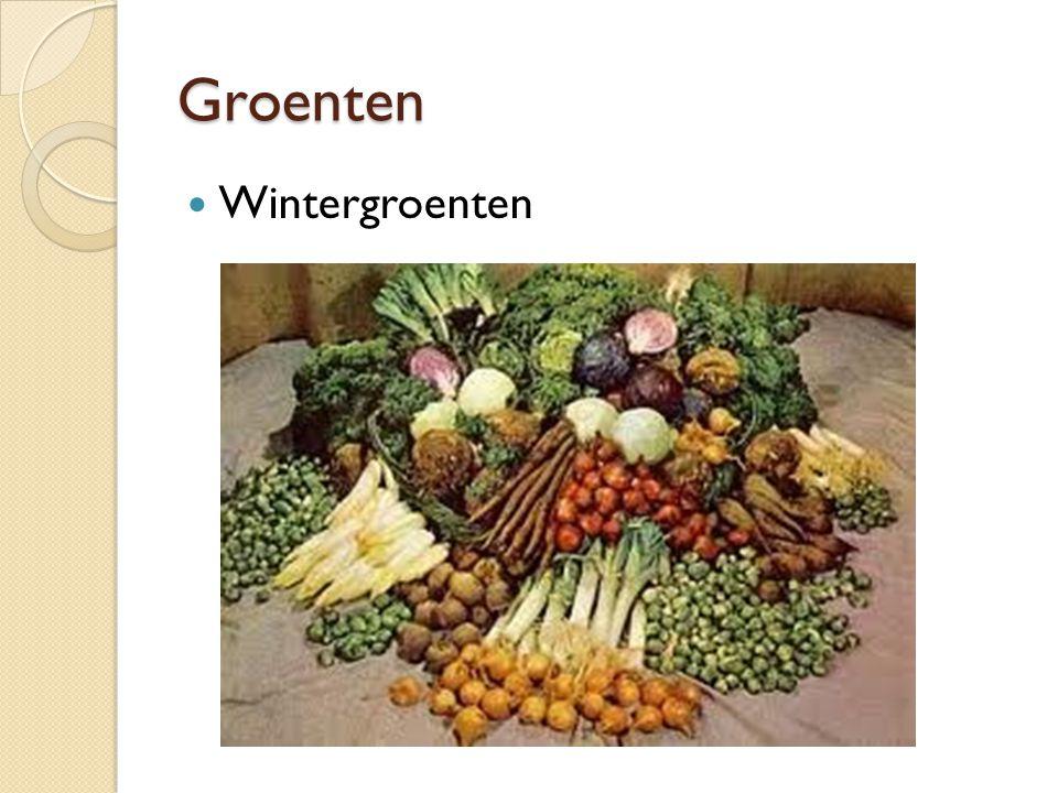Groenten Zomergroenten