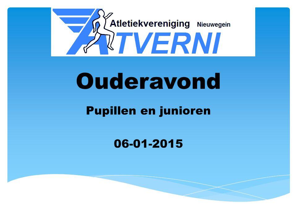 Ouderavond Pupillen en junioren 06-01-2015