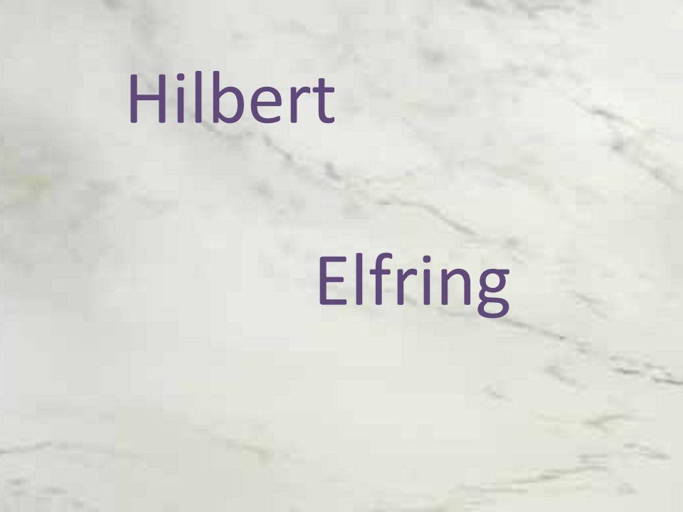 Hilbert Elfring