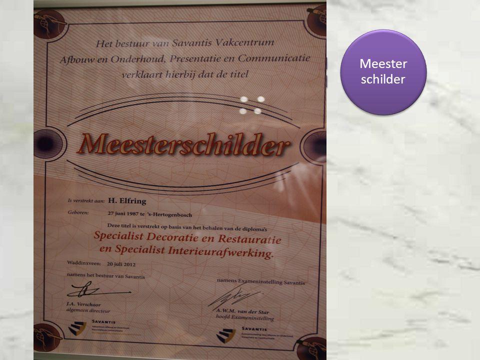 Specialist interieur afwerking Specialist Resturatie Decoratie Meester schilder