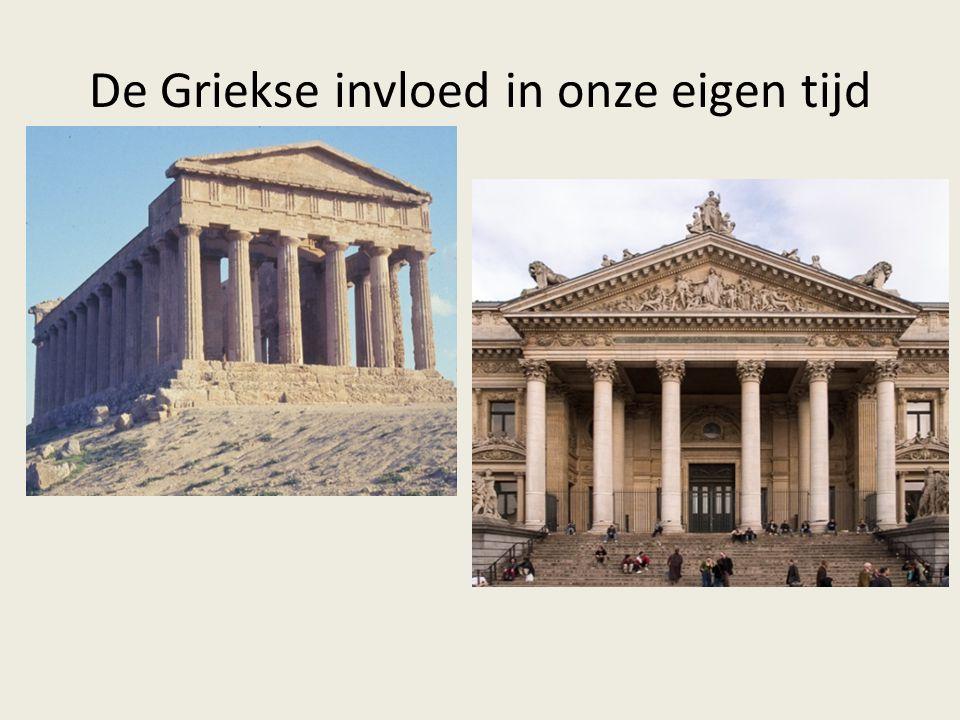 B.Periodes in de Griekse beschaving Archaïsche periode (800-500 v.