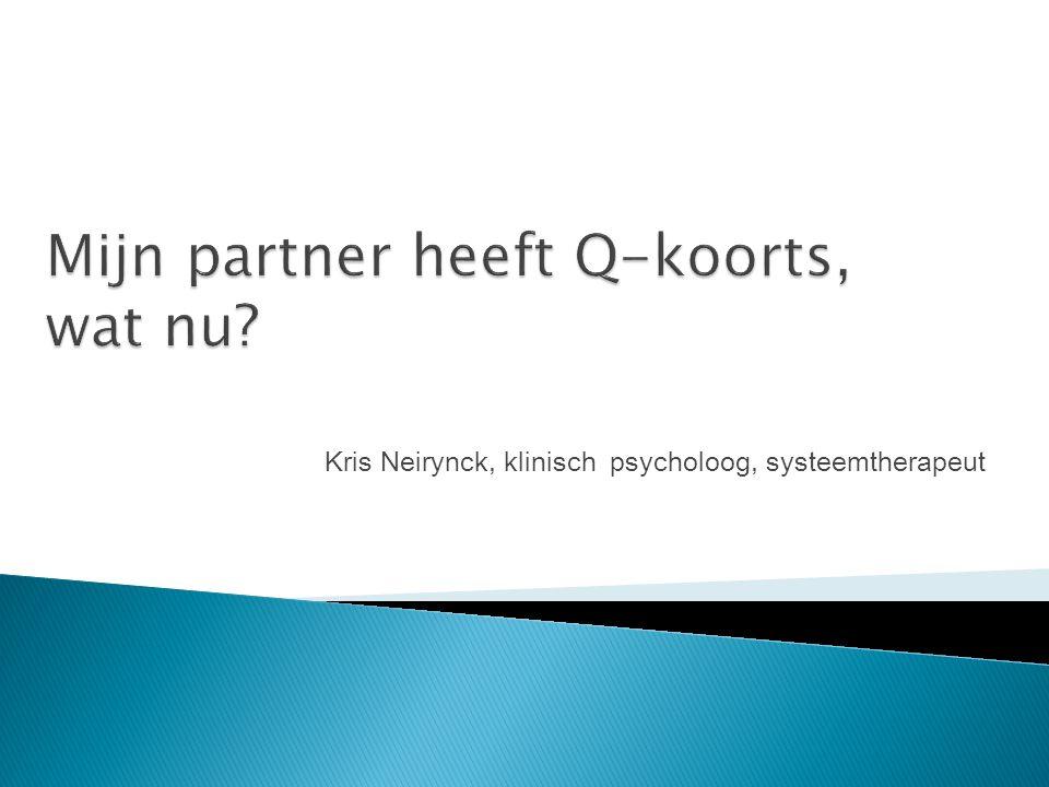 Kris Neirynck, klinisch psycholoog, systeemtherapeut