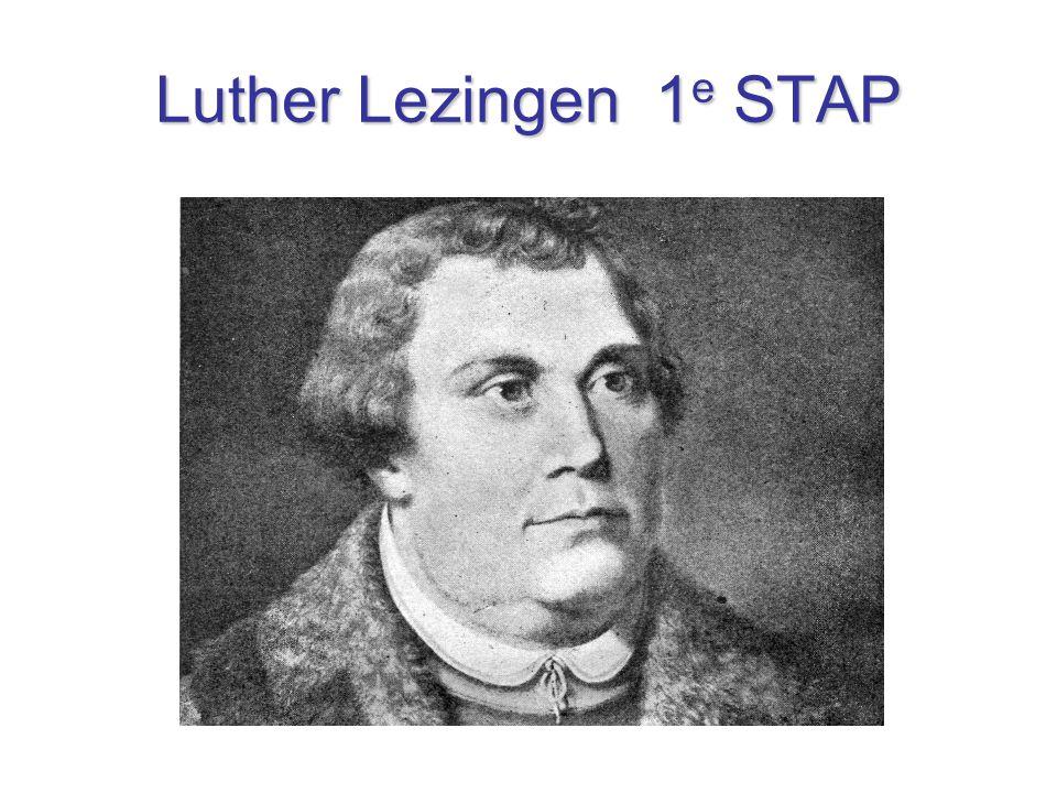 Luther Lezingen 1 e STAP