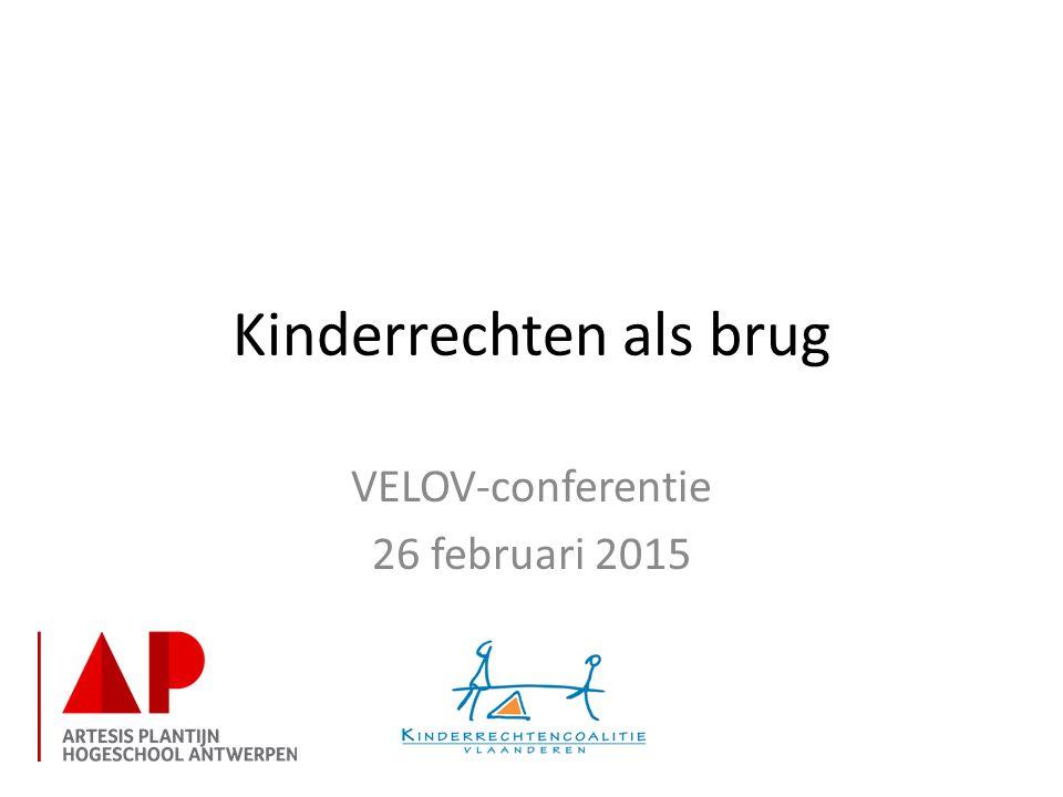 Kinderrechten als brug VELOV-conferentie 26 februari 2015