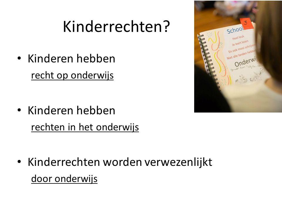 Kinderrechten.