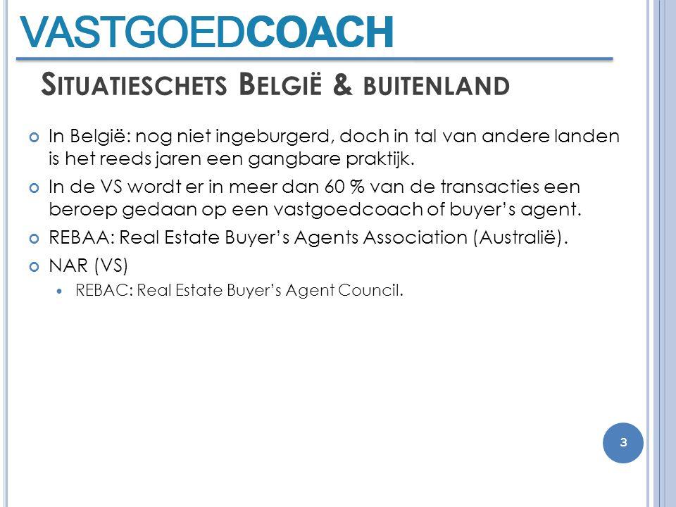 S ITUATIESCHETS B ELGIË & BUITENLAND In België: nog niet ingeburgerd, doch in tal van andere landen is het reeds jaren een gangbare praktijk.