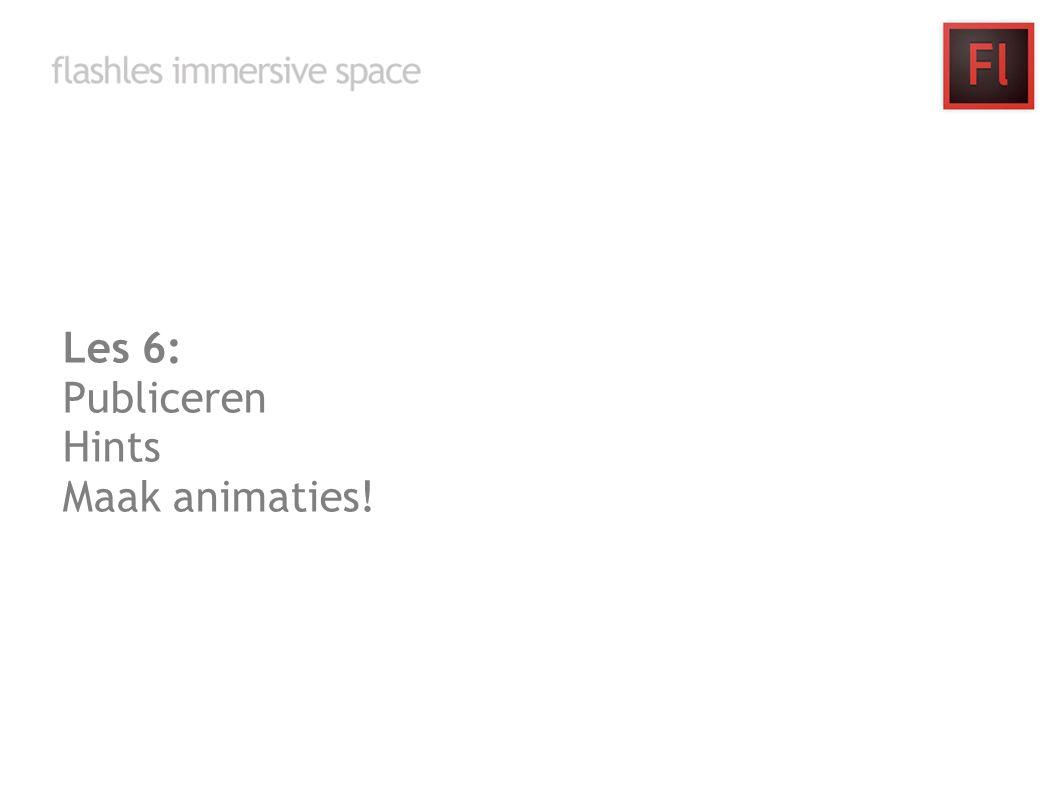 Les 7 t/m 8: Werken aan je eigen space, dit doe je tijdens de les, waarbij ik aanwezig ben om je te helpen waar nodig.