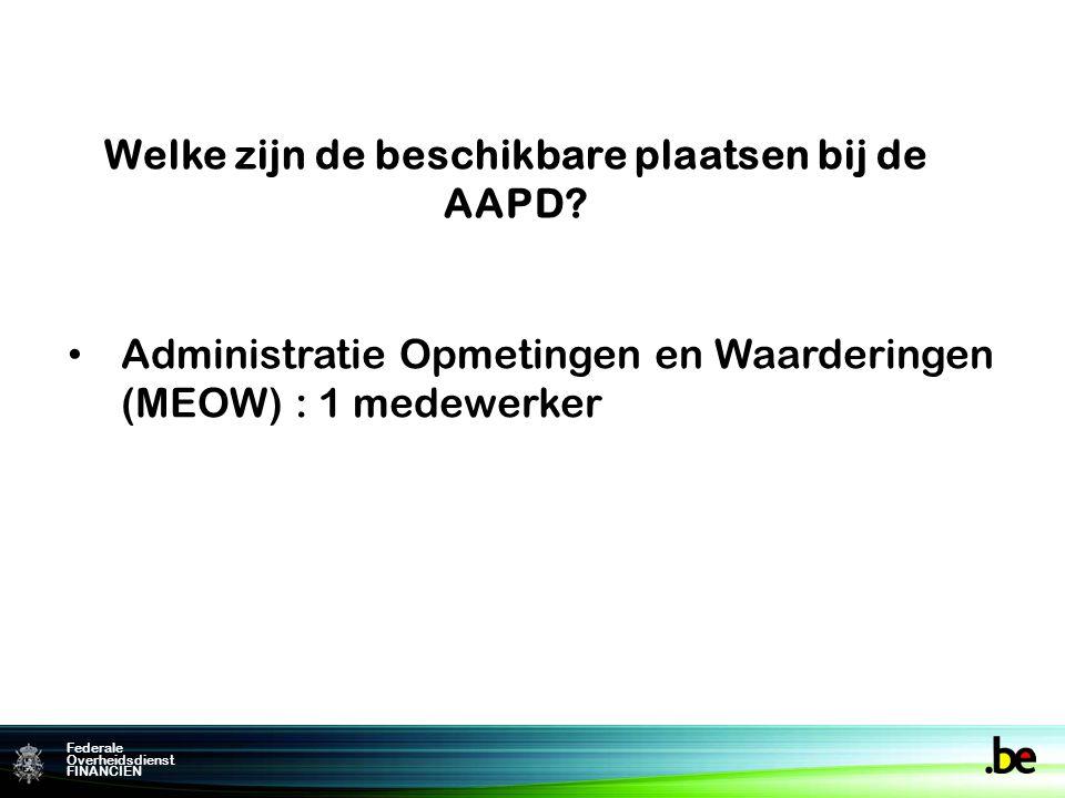 Federale Overheidsdienst FINANCIEN comcel.patdoc@minfin.fed.be Voor meer inlichtingen: