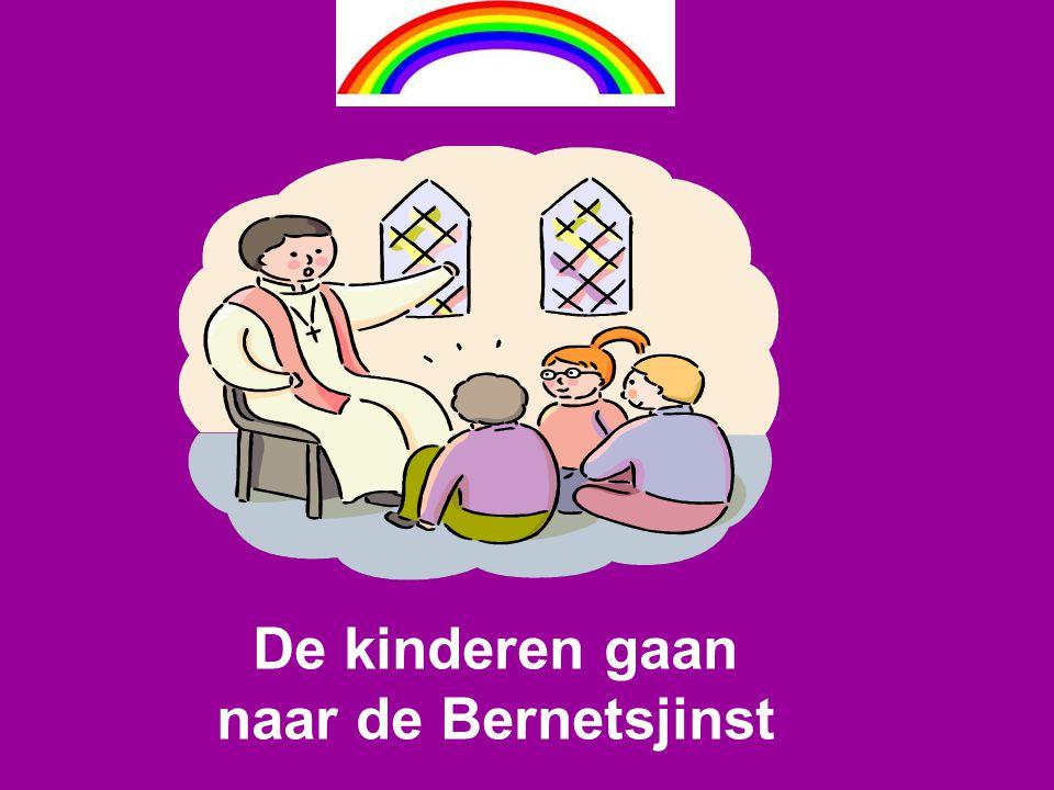 De kinderen gaan naar de Bernetsjinst