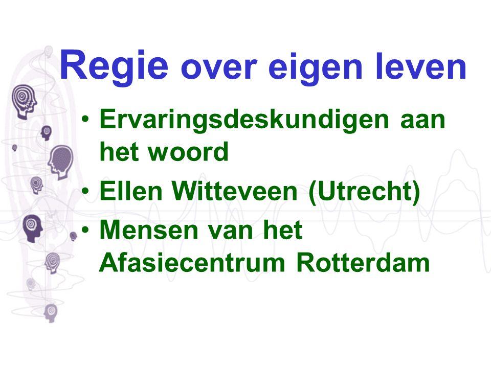 Mia Verschaeve Afasietherapeut (logopedist) & Klinisch Linguïst - Voor de AVN Landelijk Project Coördinator Afasiecentra - Manager Afasiecentrum Rotterdam bij Stichting Zorgbeheer de Zellingen