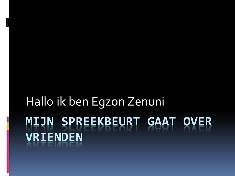 Hallo ik ben Egzon Zenuni