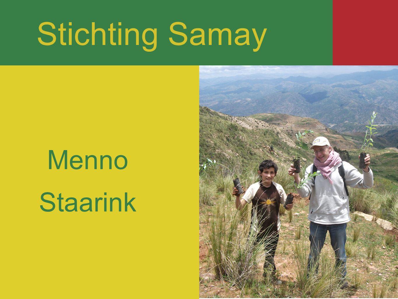 opgericht in 2001 armoedebestrijding milieutoepassingen Bolivia Stichting Samay