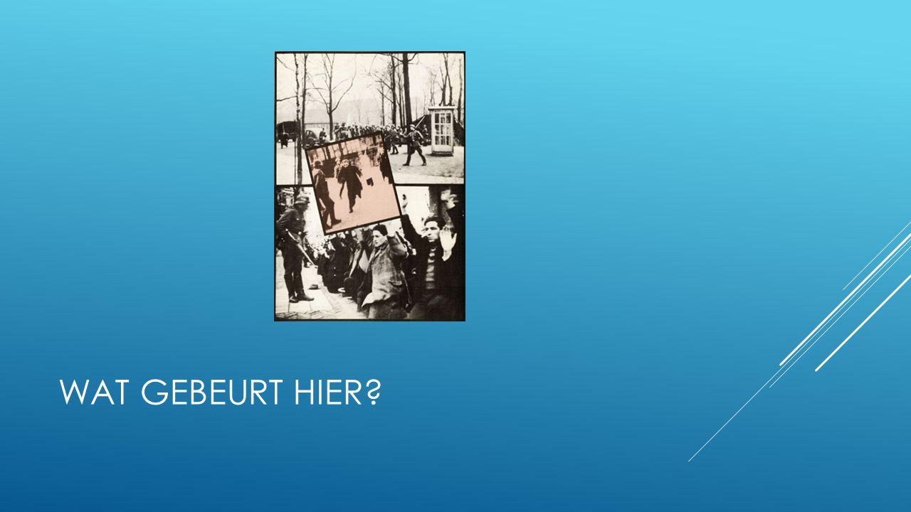 EINDOPDRACHT  Zoek op www.verzetsmuseum.org meer informatie  over situatie in Nederland tijdens de  Tweede Wereldoorlog.