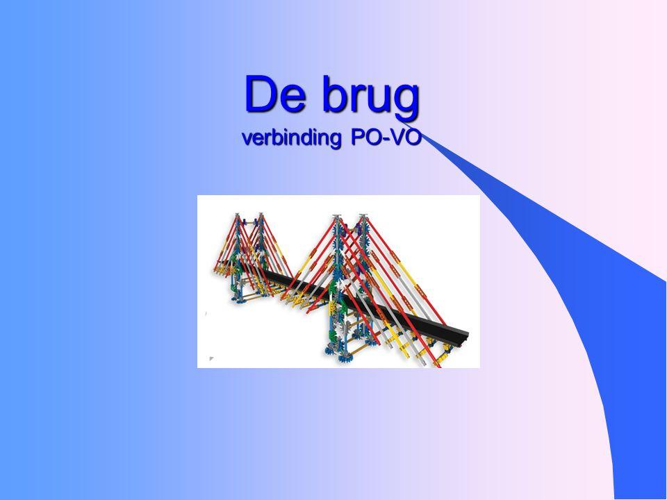 De brug verbinding PO-VO