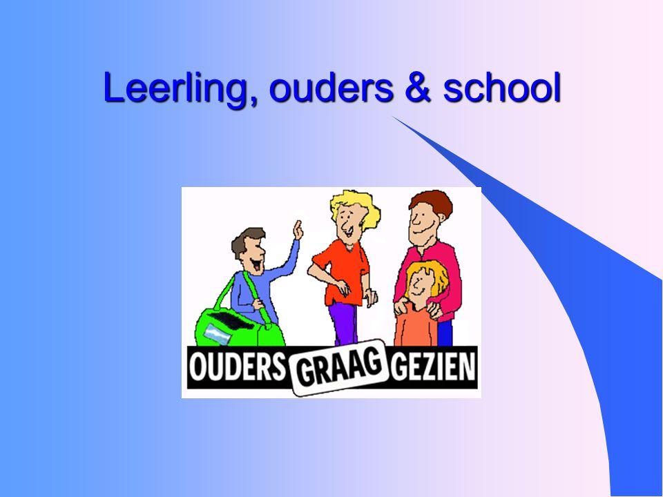 Leerling, ouders & school