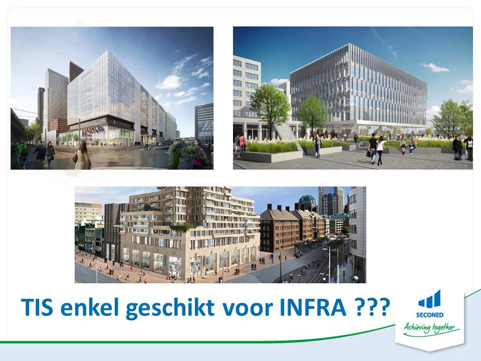 TIS enkel geschikt voor INFRA ???