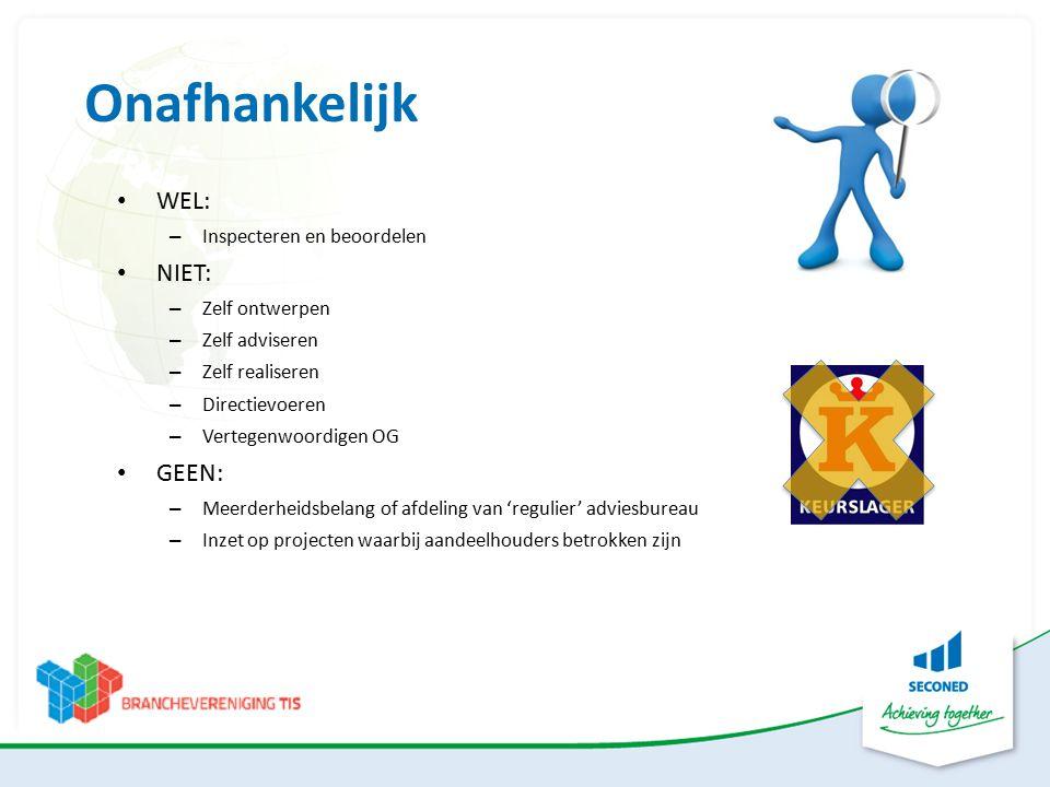 Meer info over TIS IKOB-BKB: www.ikobbkb.nl/technische-inspectie-services-tis.html TIS Branchevereniging: www.branchevereniging-tis.nl SECONED Wim Hoppenbrouwers:06-55.32.64.40 w.hoppenbrouwers@seconed.nl www.seconed.nl