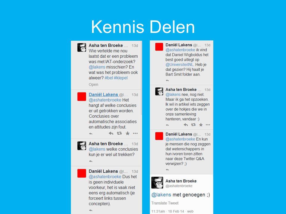 Kennis Delen