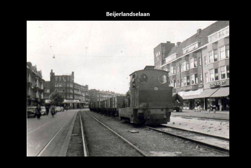 Autohandel. Autogarage aan de Beverstraat 25 in Rotterdam. Eigenaar is de heer D. Brugman. Foto 1931