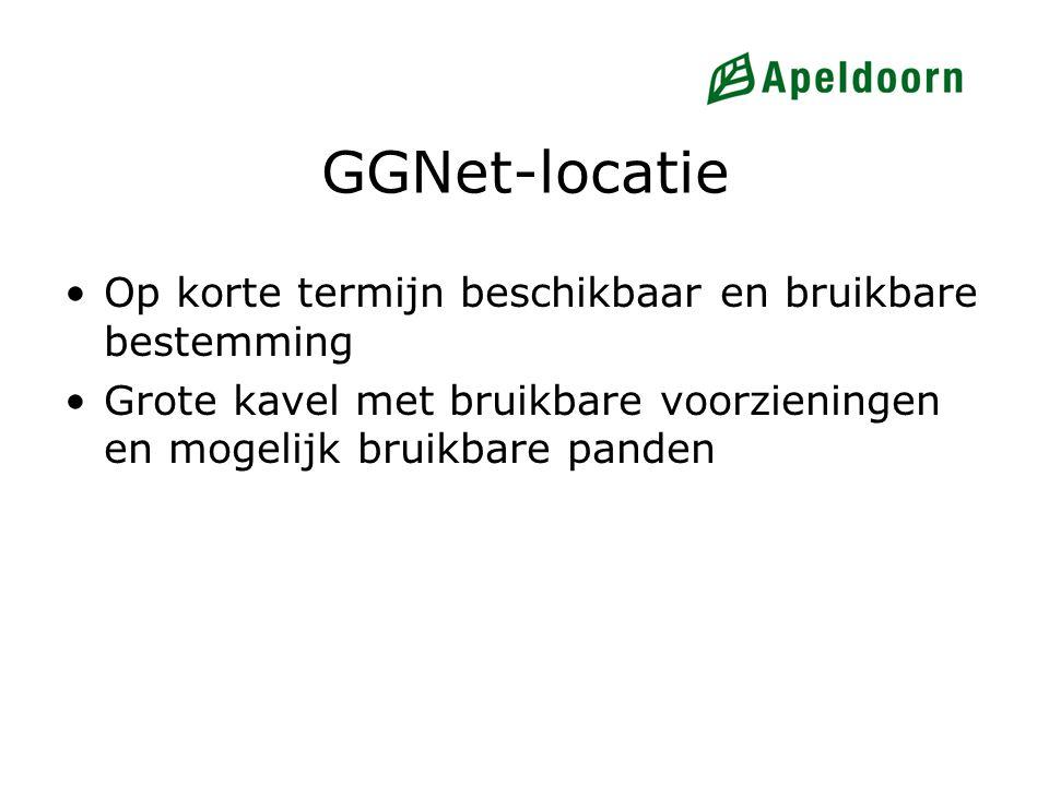 GGNet-locatie Op korte termijn beschikbaar en bruikbare bestemming Grote kavel met bruikbare voorzieningen en mogelijk bruikbare panden