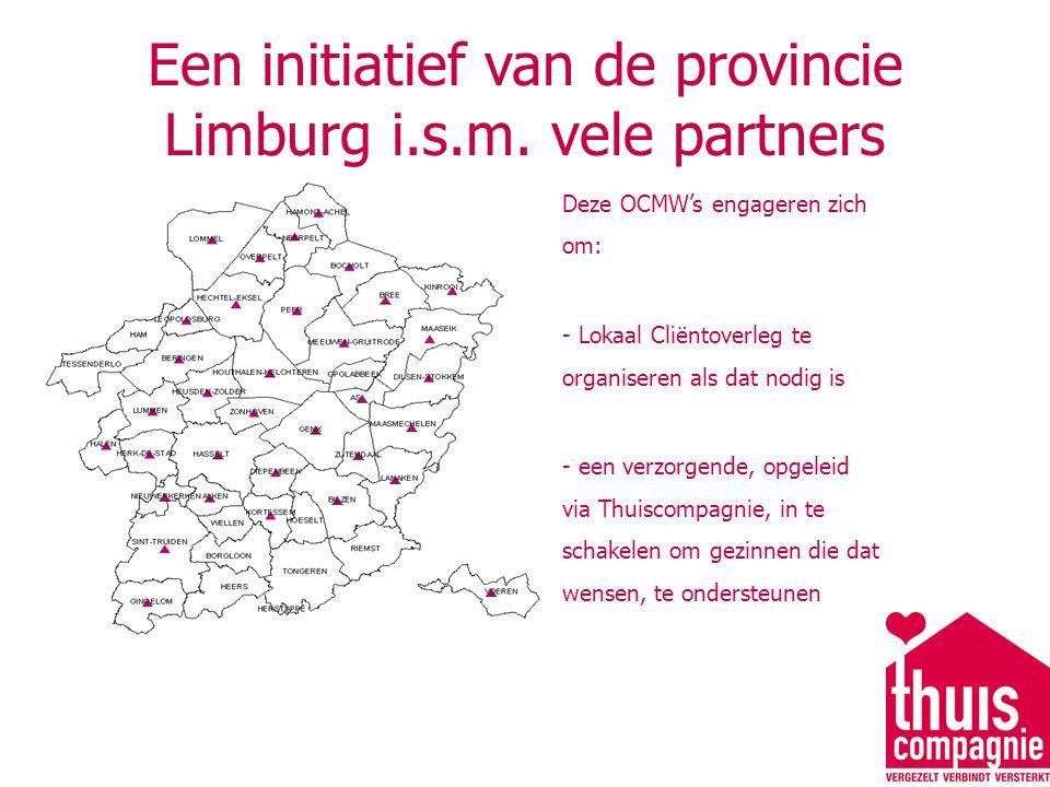 Een initiatief van de provincie Limburg i.s.m.