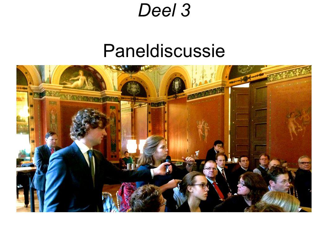 Deel 3 Paneldiscussie