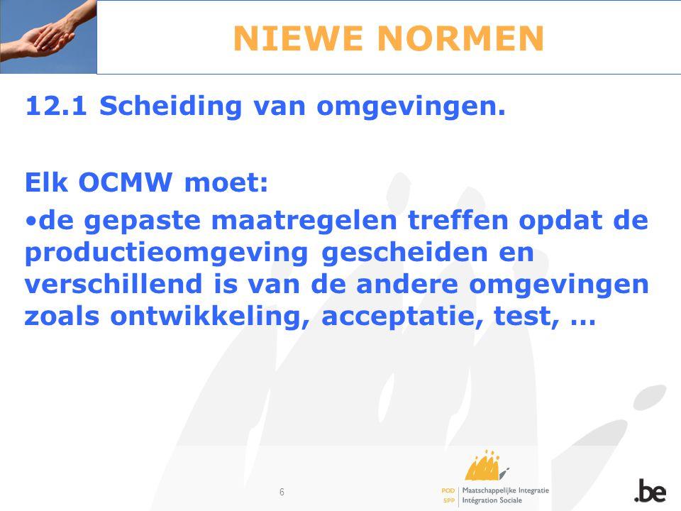 47 Informatieveiligheid bij de integratie- oefening OCMW - gemeente Samenbrengen van informatie- en communicatie-technologie –Een samenwerking is toegestaan.