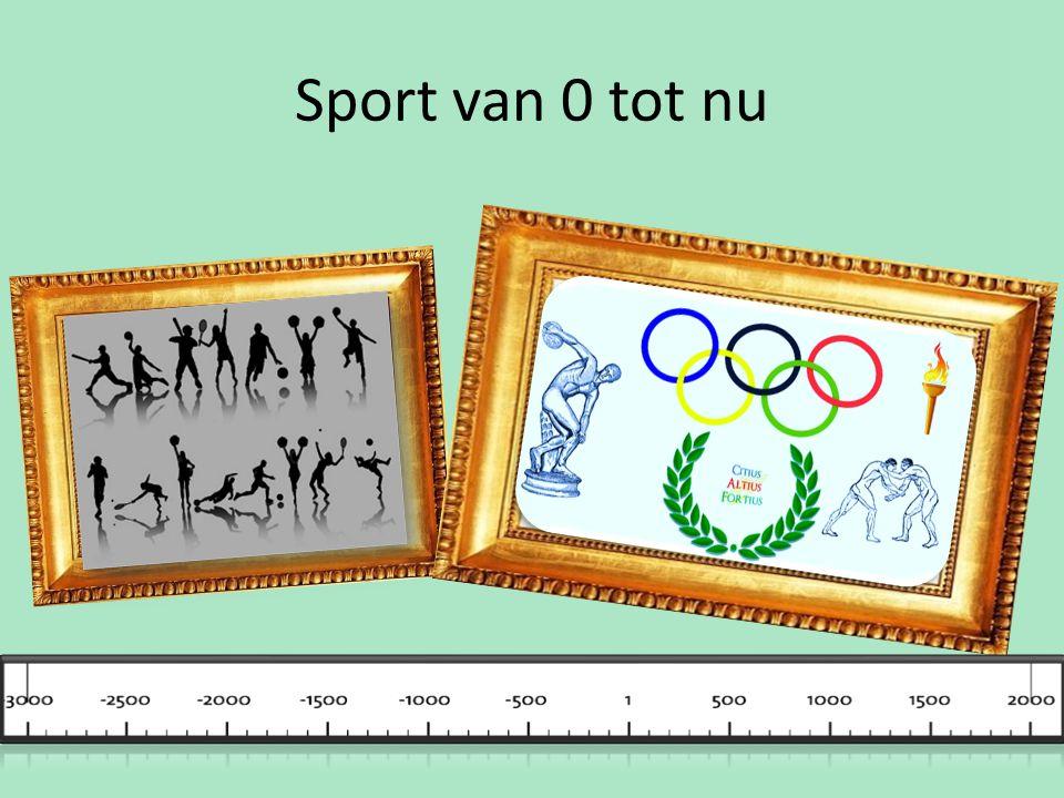 Sport van 0 tot nu