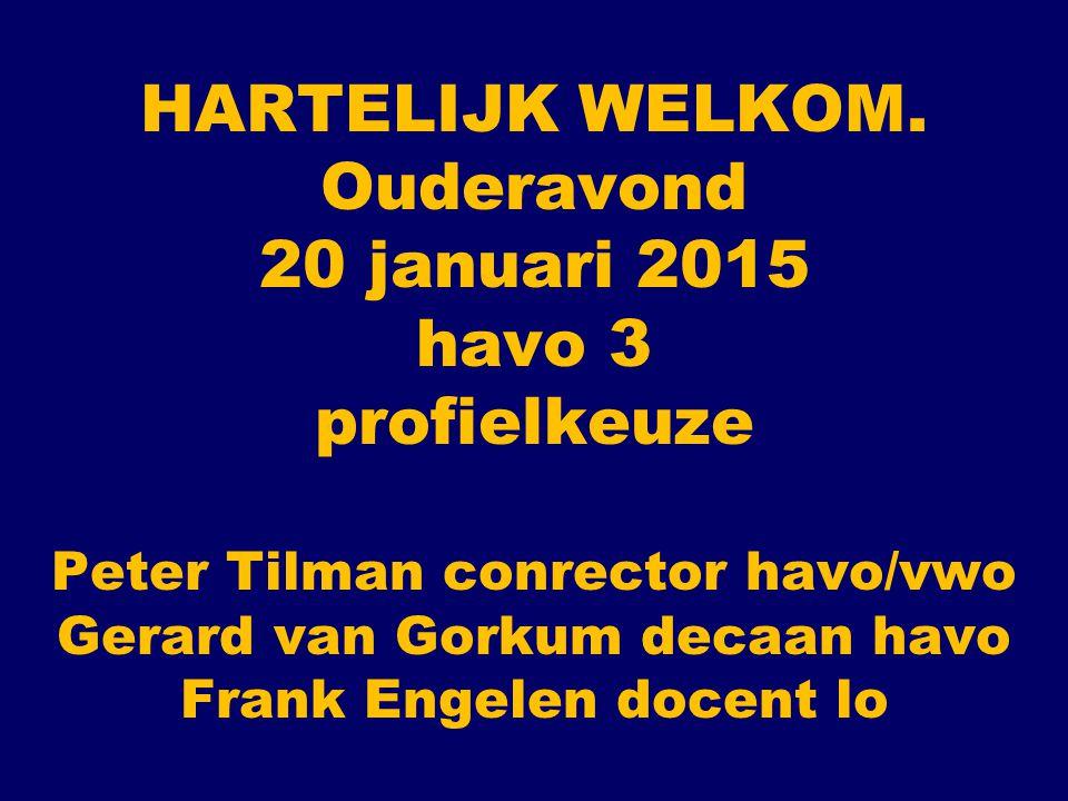 PROGRAMMA VAN DEZE OUDERAVOND HAVO 3 PROGRAMMA KEUZEBEGELEIDING DE TWEEDE FASE - OPZET UITLEG PROFIELEN en PROFIELKEUZEFORMULIER INFORMATIE OVER HET VAK B(ewegen) S(port) M(aatschappij) door Frank Engelen docent LO UW VRAGEN