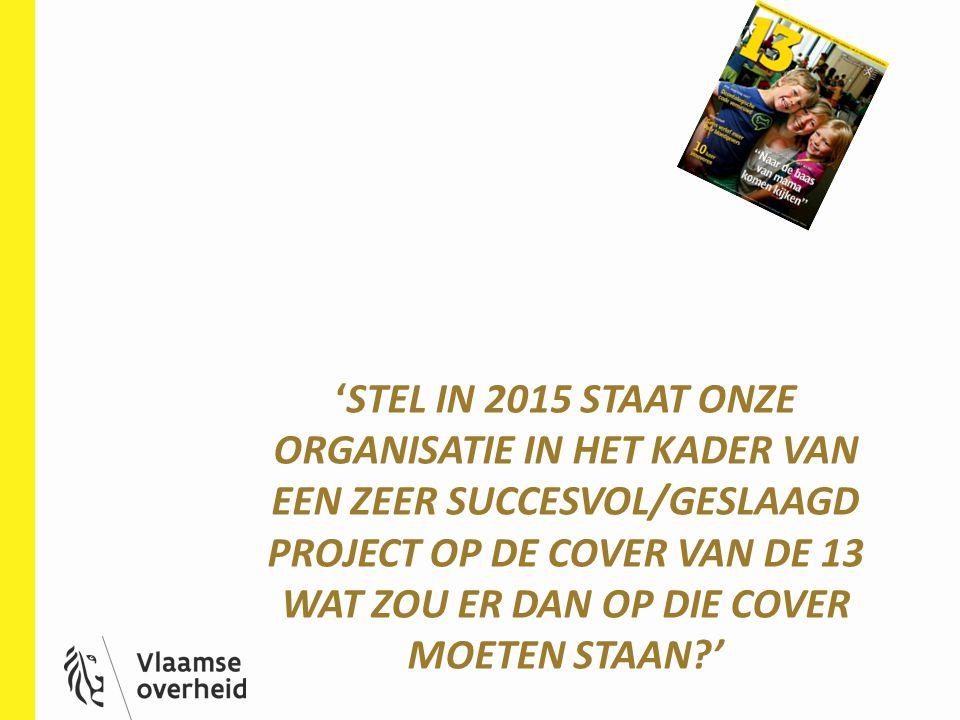Ga er vanuit dat het tijdschrift verschijnt in oktober 2015 Maak een krachtige titel: Vb.