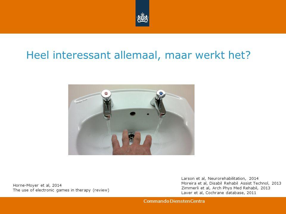 Commando DienstenCentra BEDANKT VOOR UW AANDACHT Twitter: @agalimert Agalimert.wordpress.com a.mert@mindef.nl