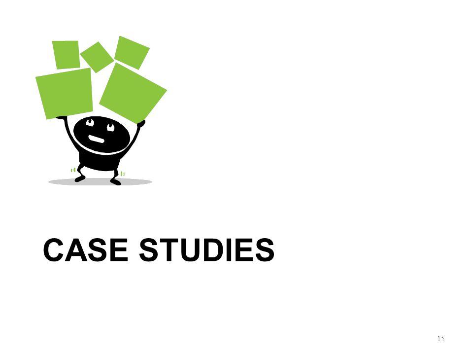 CASE STUDIES 15
