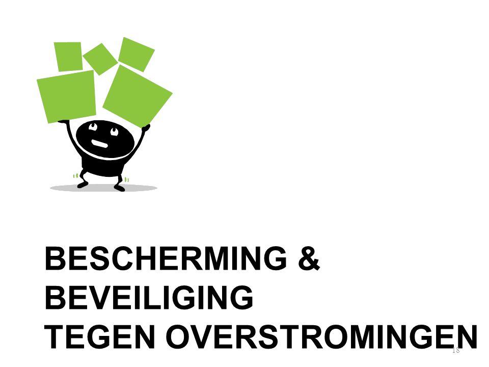 BESCHERMING & BEVEILIGING TEGEN OVERSTROMINGEN 18