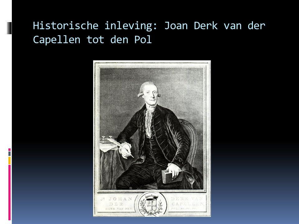 Historische inleving: Joan Derk van der Capellen tot den Pol
