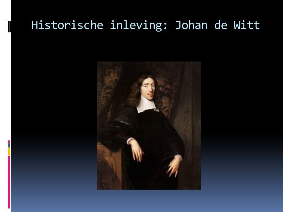 Historische inleving: Johan de Witt