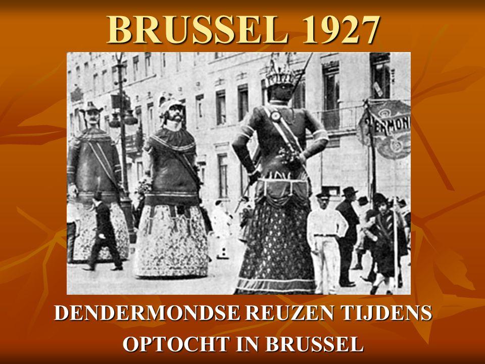 DENDERMONDE 1927 INHULDIGING VAN HET NIEUWE GERECHTSGEBOUW